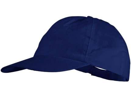 """Бейсболка нетканая """"Basic"""", синяя"""