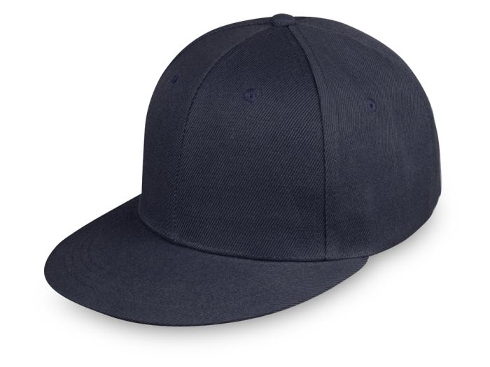"""Бейсболка с прямым козырьком """"Los Angeles"""", тёмно-синяя"""