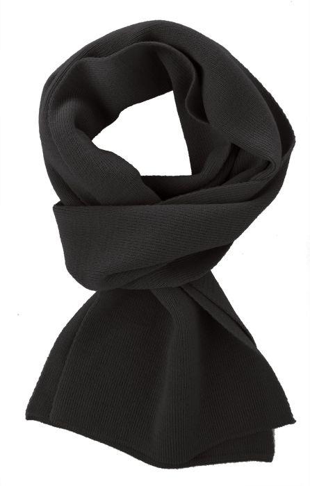 Шарф Easy, 140x20 см, чёрный