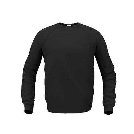 Толстовка мужская 53 Sweatshirt, цвет чёрный, размер M