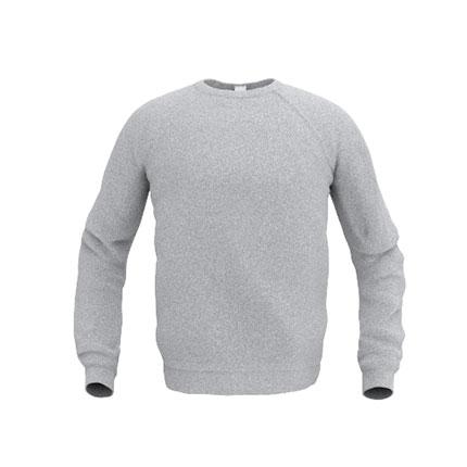 Толстовка мужская 53 Sweatshirt, цвет серый меланж, размер L