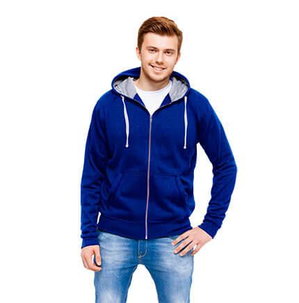 Толстовка мужская 61 Cool, цвет синий, размер S