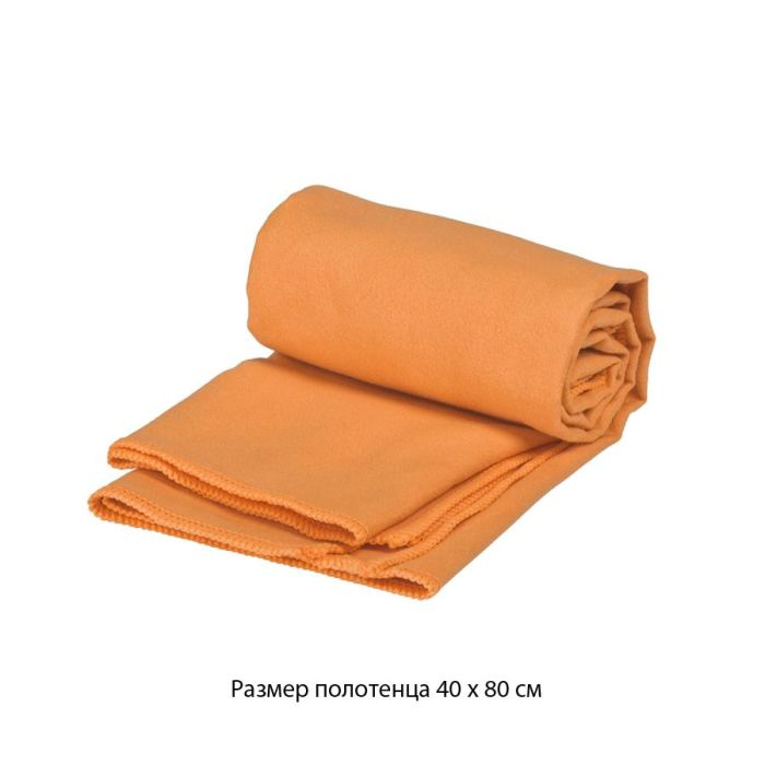 "Полотенце для фитнеса ""Тонус"", 40х80 см, цвет оранжевый"
