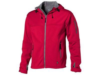 """Куртка """"Soft shell"""" мужская, цвет красный/серый, размер XL"""