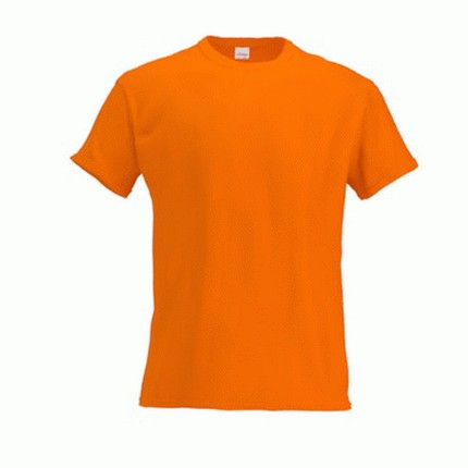 Футболка детская 06 Kids, цвет оранжевый, размер 8 лет