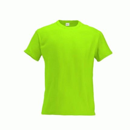 Футболка детская 06 Kids, цвет ярко-зелёный, размер 10 лет