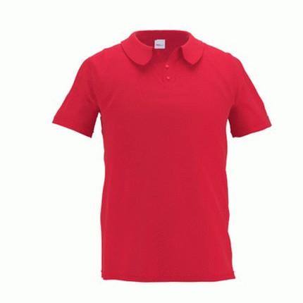 Рубашка поло мужская 04 Premier, цвет красный, размер S