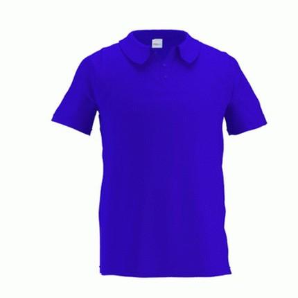 Рубашка поло мужская 04 Premier, цвет синий (васильковый), размер M