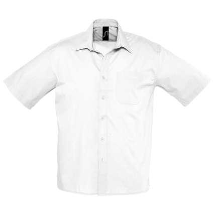 """Рубашка мужская """"Bristol"""", белая, размер M"""