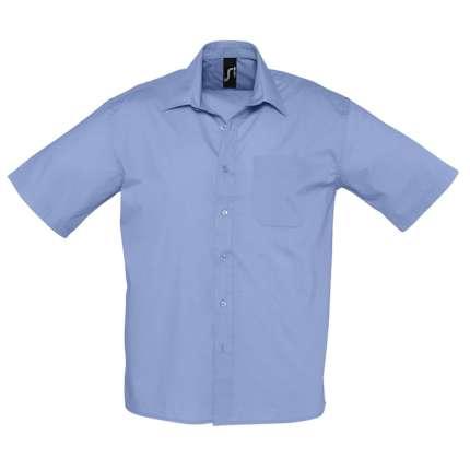"""Рубашка мужская """"Bristol"""", голубая, размер L"""
