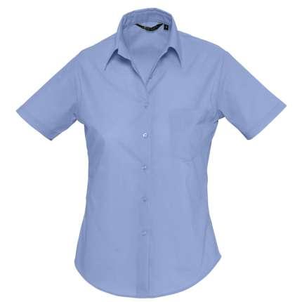 """Рубашка женская """"Escape"""", синяя, размер L"""