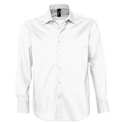 """Рубашка мужская """"Brighton"""", белая, размер S"""