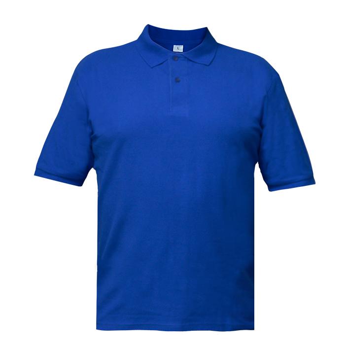 Рубашка поло мужская Short, цвет синий, размер L