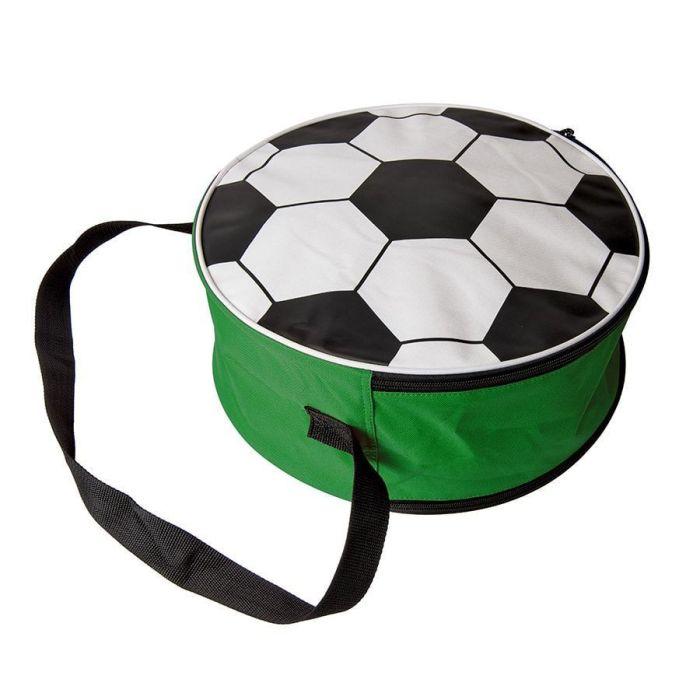 Сумка футбольная, цвет зелёный