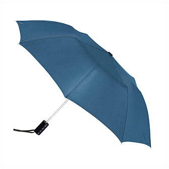 Зонт складной,  п/автомат, синий