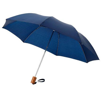 """Зонт складной """"Nicea"""", механический, цвет синий"""