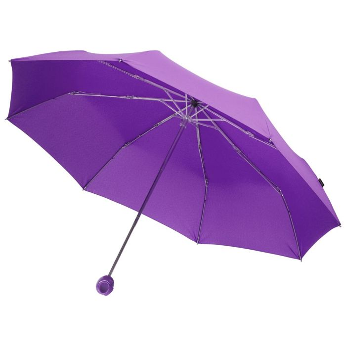 Зонт складной Floyd с кольцом, фиолетовый