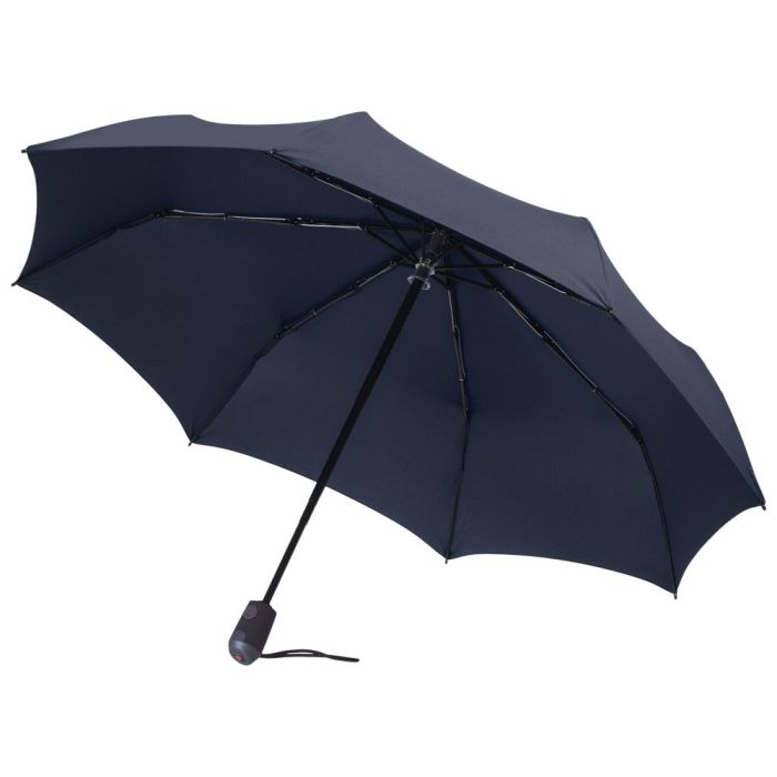 Зонт складной E.200, тёмно-синий
