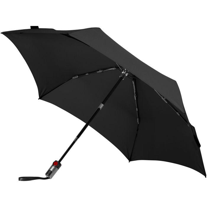 Зонт с безопасным механизмом складывания TS220, чёрный