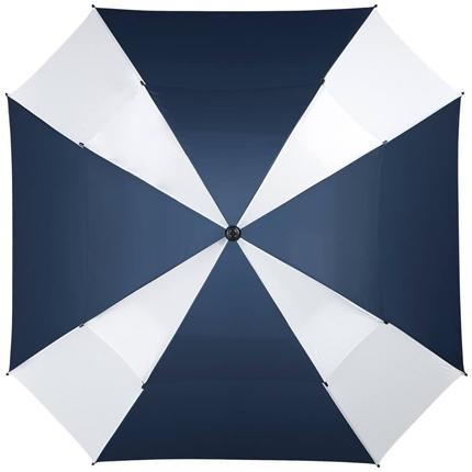 """Зонт-трость """"Helen"""", механический, цвет синий с белым"""