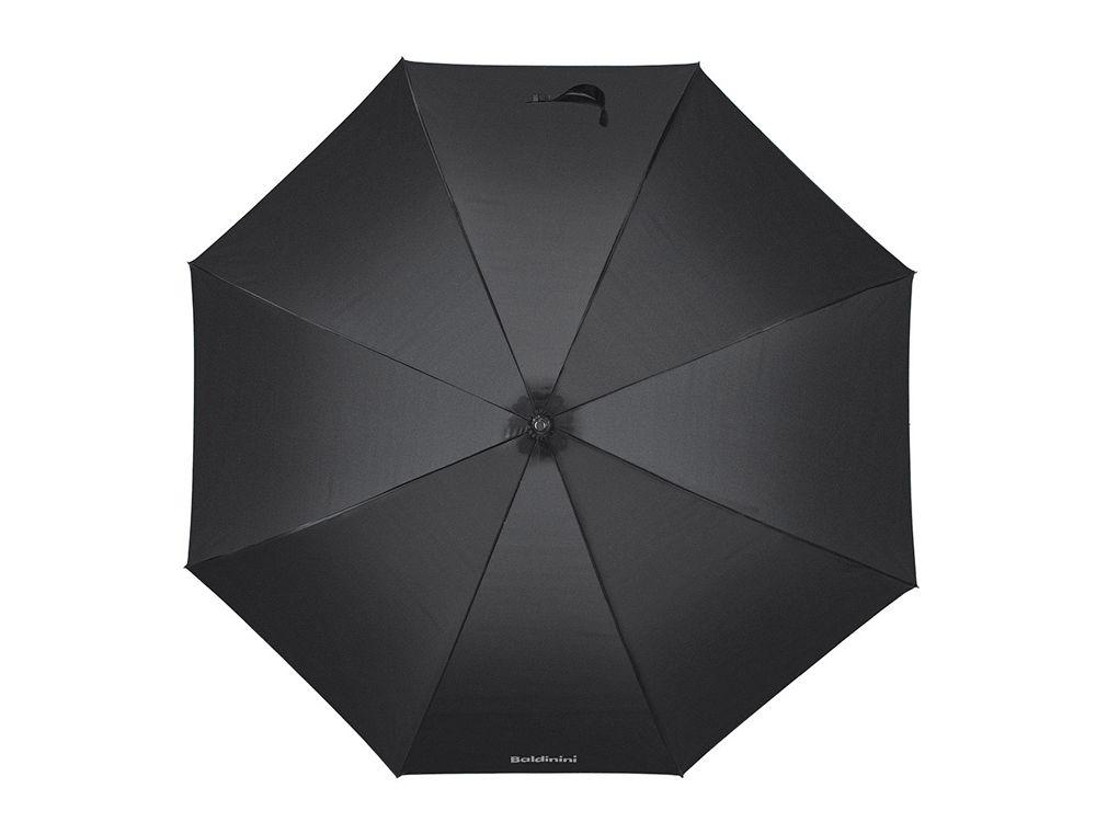 Зонт-трость Baldinini, полуавтомат, чёрный