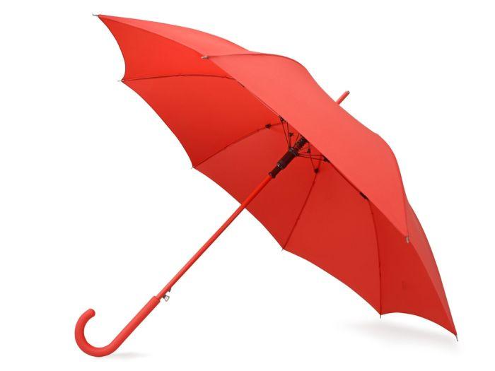 """Зонт-трость """"Color"""", цвет красный"""