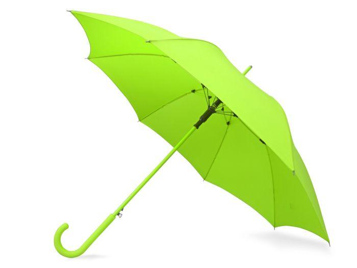 """Зонт-трость """"Color"""", цвет зелёное яблоко"""