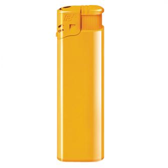 """Зажигалка пьезо многоразовая (12004) """"Flameclub"""" P-01 HC Yellow"""