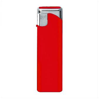 "Зажигалка пьезо многоразовая (51004) ""Flameclub"" P-03 HC Red"