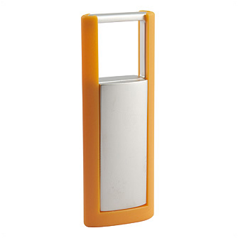 Брелок для ключей с оранжевой рамкой