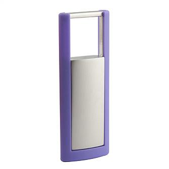 Брелок для ключей с фиолетовой рамкой