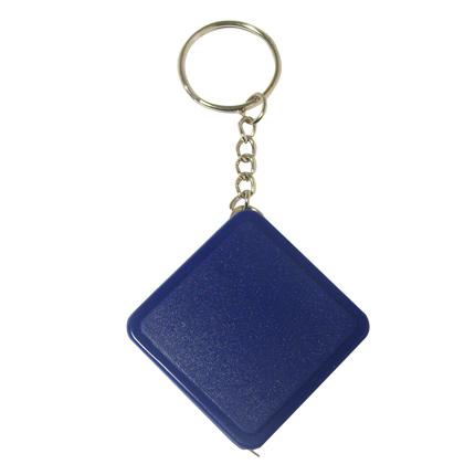 Брелок-рулетка, длина 1м, цвет синий