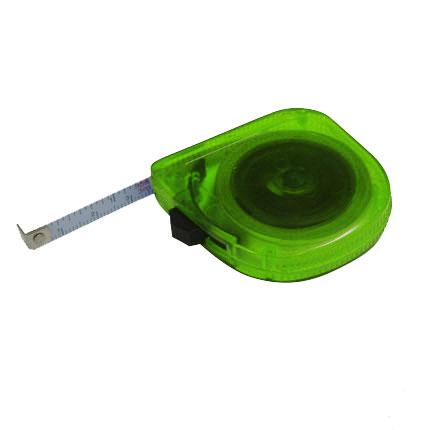 Рулетка, длина 3 м, цвет зеленый