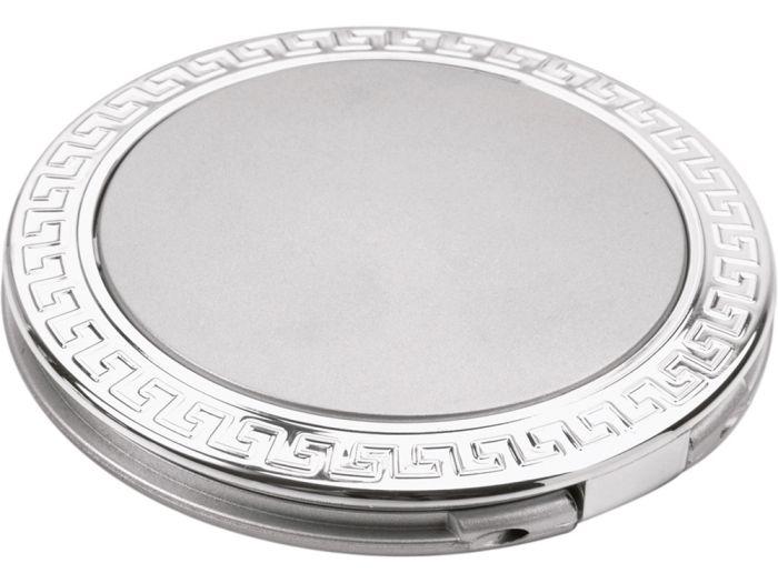 """Складное зеркало """"Отражение"""", цвет серебристый"""