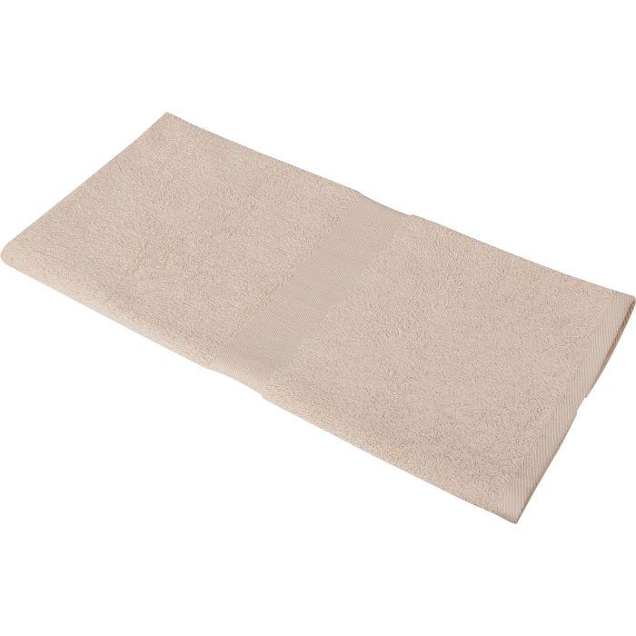 Полотенце махровое Medium, 100х50 см, бежевое