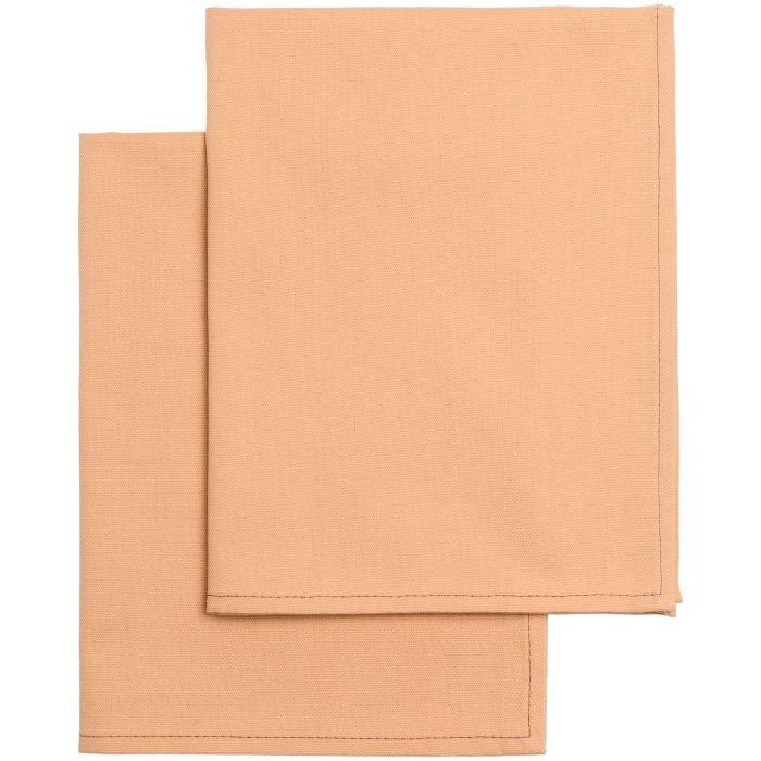 Набор из двух кухонных полотенец Keep Palms, цвет персиковый
