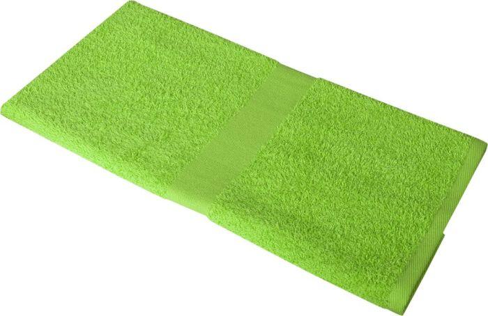 Полотенце махровое Medium, 100х50 см, зелёное яблоко