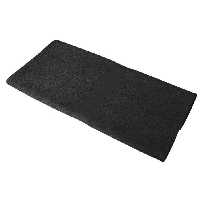 Полотенце махровое Medium, 100х50 см, чёрное