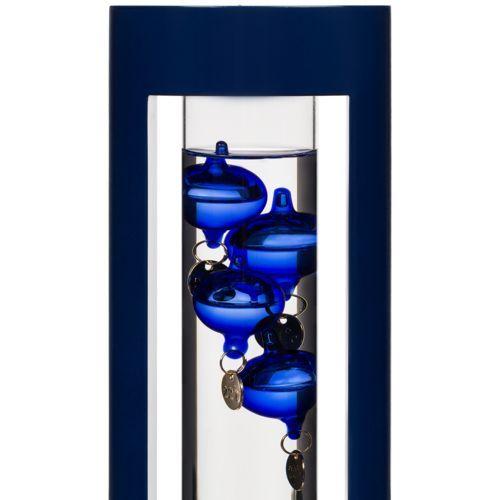 Термометр «Галилео» в деревянном корпусе, синий
