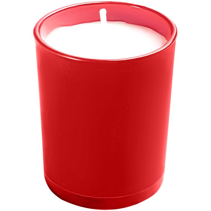 Свеча Glimmy, красная