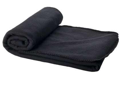 """Плед для пикника """"Huggy"""", 150х120 см, в чехле, чёрный"""