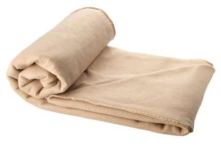 "Плед для пикника ""Huggy"", 150х120 см, в чехле, бежевый"