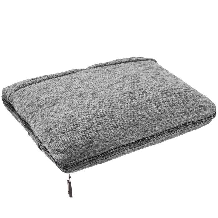 Дорожный плед onBoard, 82х140 см, серый меланж