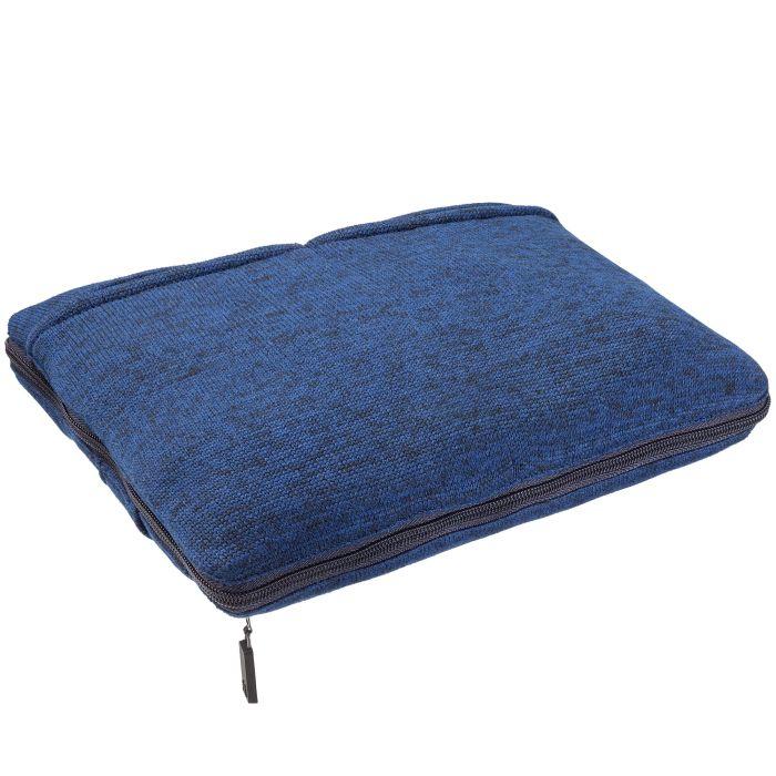 Дорожный плед onBoard, 82х140 см, синий меланж