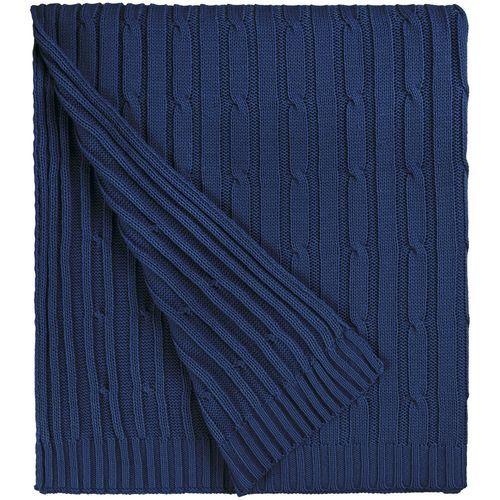 Плед Remit, темно-синий (сапфир)