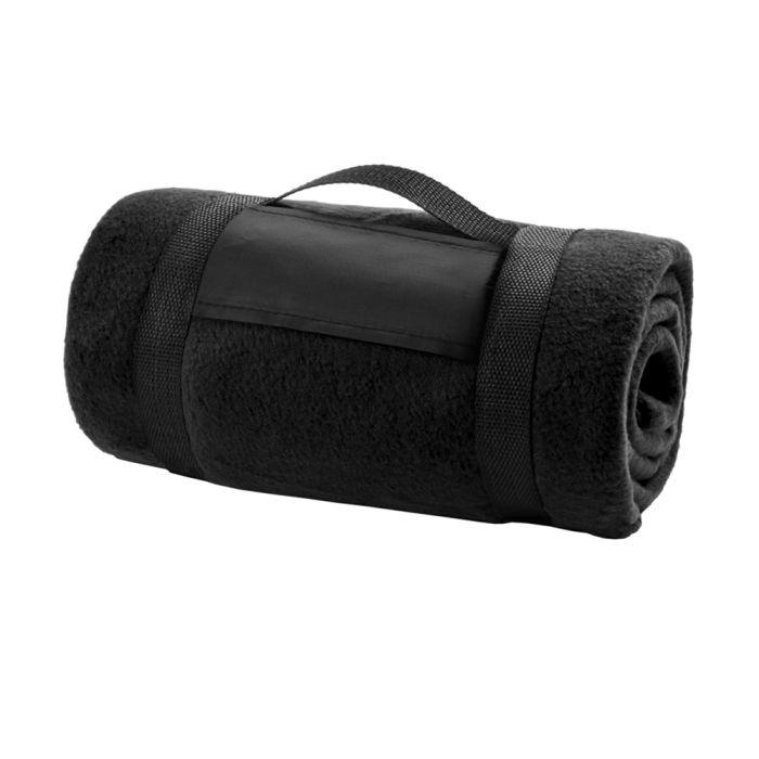 Плед Арго - Черный AA, 130х150