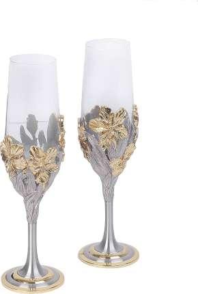 Набор: бокалы для шампанского (2 шт.) в подарочной коробке