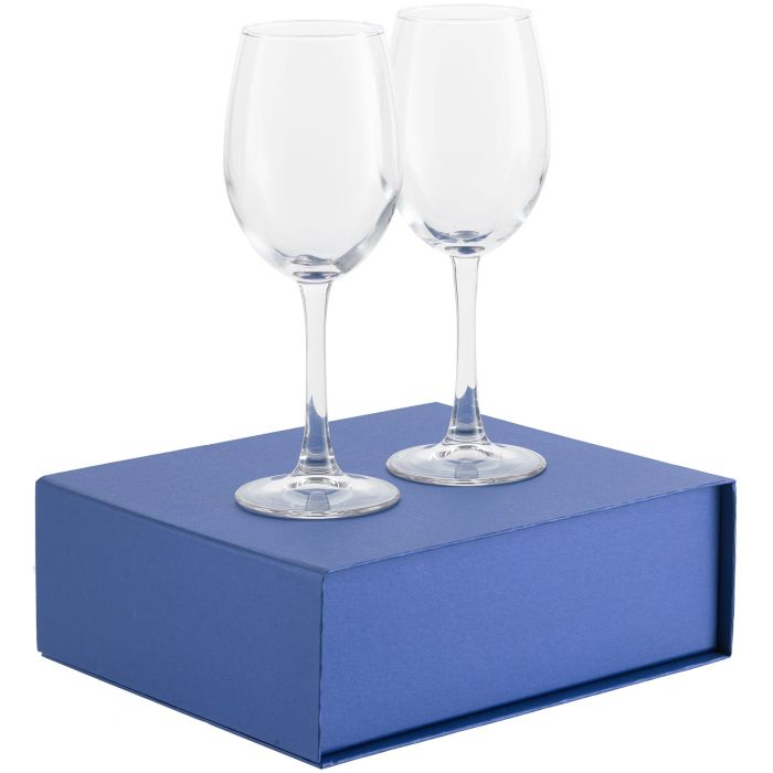 Набор бокалов для вина Wine House, синий