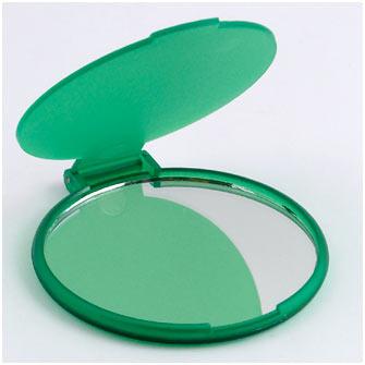 Зеркальце, зеленый пластик