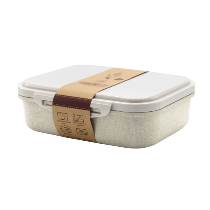 Ланчбокс (контейнер для еды) Frumento - Бежевый BG, 1000 мл